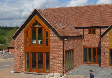 Oak framed house in Warwickshire